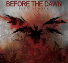 "COVER OF THE ALBUM OF THE HEAVY METAL BAND ""BEFORE THE DAWN"""