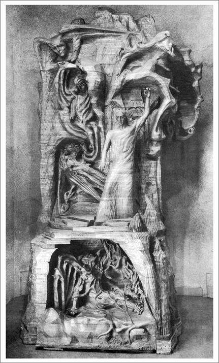 RUDOLF STEINER SCULPTURE TITLED THE REPRESENTATIVE OF MAN