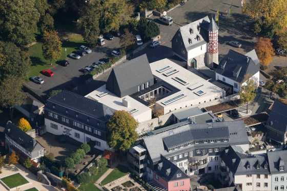 Opulent residence of German Bishop Franz Peter Tebartz-van Elst — known derisively as Bishop Deluxe or Bishop of Bling