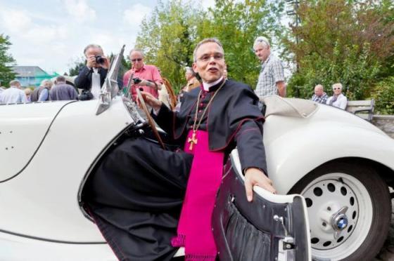 German Bishop Franz Peter Tebartz-van Elst -- known derisively as Bishop Deluxe or Bishop of Bling